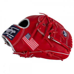 "Rawlings HOH Flag Collection 11.75"" Infield/Pitcher's Glove - USA Flag - PRO205-9USA"