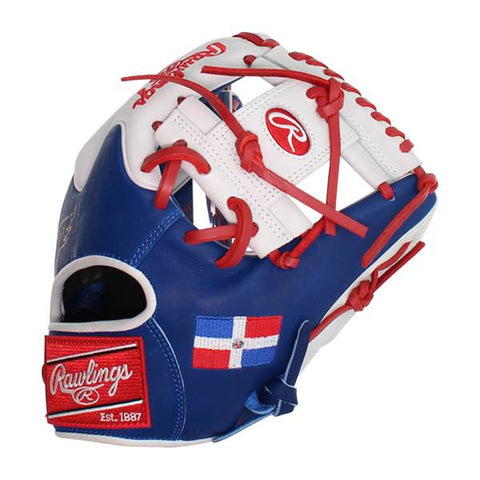 Rawlings Heart of the Hide Baseball Glove - Dominican Flag