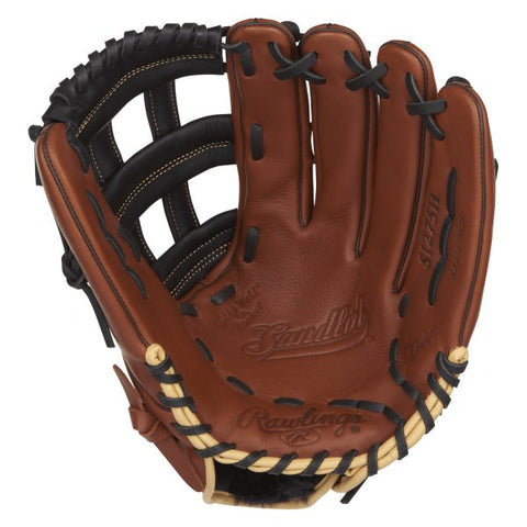 "Rawlings S1275H-3/0 - Sandlot Series™ 12.75"" Right Hand Baseball Outfield Glove"