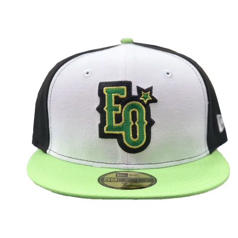 New Era Estrellas Orientales 59Fifty Black/White/Green Hats