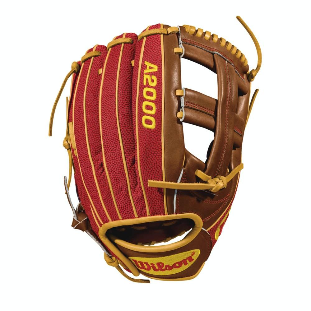 Wilson A2000 Dustin Pedroia 11.75 inch Infield Baseball Glove WTA20RB18DP15GM - peligrosportsnyc