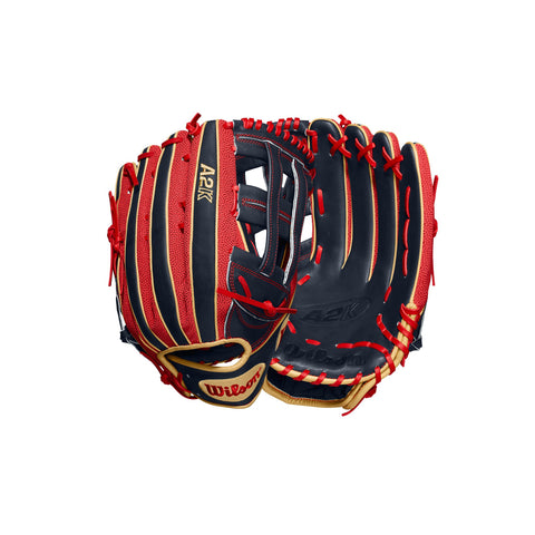 "Wilson A2K 12.5"" MB50 Mookie Betts Baseball Glove - WTA2KRB20MB50GM"