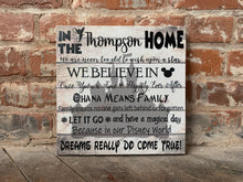 Disney Lovers Home Decor Canvas, Perfect Gift For Disney Fan