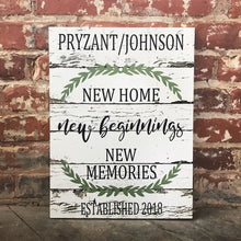 New Home, New Beginnings, New Memories, Perfect For Housewarming, Valentine's Day Gift