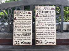 Disney Themed Handcrafted Canvas, Personalize For FREE