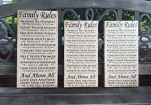 Christian House Rules, FAMILY, Personalized, Bible Verses, LOVE One Another