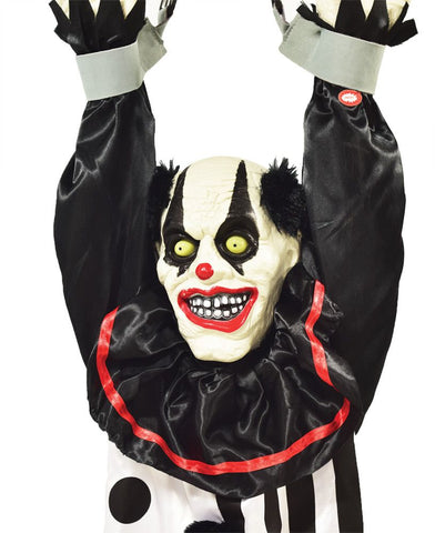5Ft Hanging Clown - Animated - Willow Manor Shop