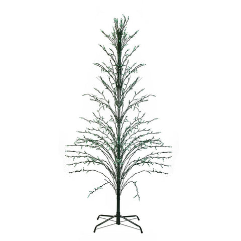 4' Cascade Twig Tree Lighted - Green
