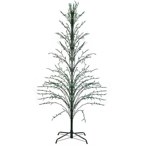 6' Cascade Twig Tree Lighted - Green