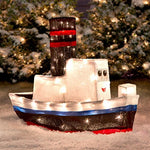 2 Ft Rudolph Island of Misfit Toys - Boat - Willow Manor Shop