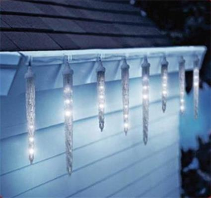 DRIPPING LED ICICLE LIGHT STRING