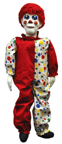 "30"" Ventriloquist Clown Doll"