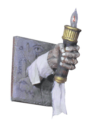 Egyptian Chamber Torch - Lighted - Willow Manor Shop