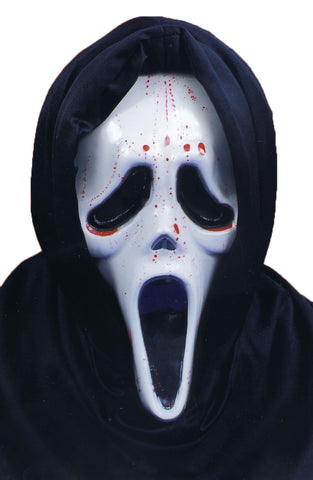 Scream Mask with Blood & Pump - Willow Manor Shop