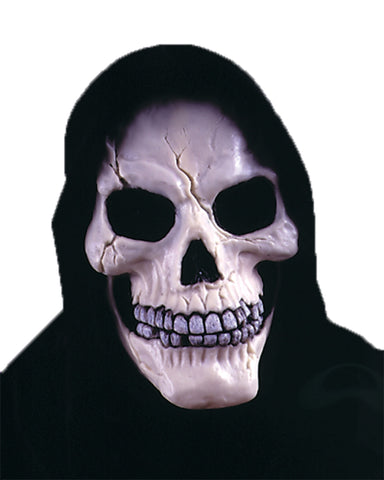 Skull with Shrouded Mask - Willow Manor Shop