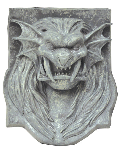 Lion Head Plaque - Distortions - Willow Manor Shop