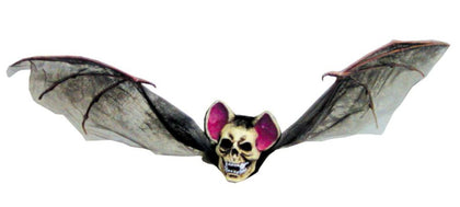 "33"" Hanging Skull Face Bat - Willow Manor Shop"