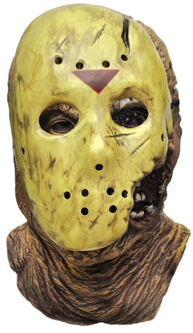 Deluxe Jason Adult Mask - Willow Manor Shop