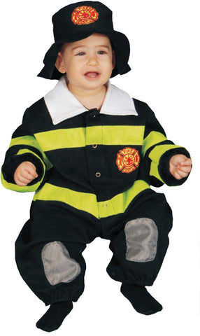 Baby Firefighter Bunting - 0-9 Months - Willow Manor Shop