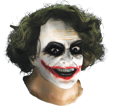 Joker Latex Mask with Hair - Willow Manor Shop