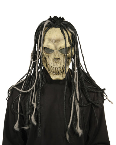 Dead Dread Mask with Hair - Willow Manor Shop