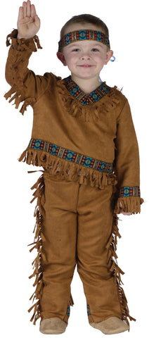 American Indian Boy - 3T-4T - Willow Manor Shop