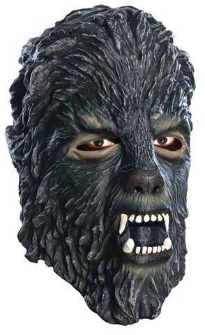 Wolfman 3-4 Latex Mask - Adult - Willow Manor Shop