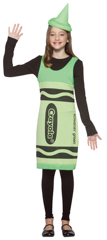 Crayola Tank Green - Tween