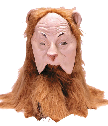 Cowardly Lion Mask - Willow Manor Shop