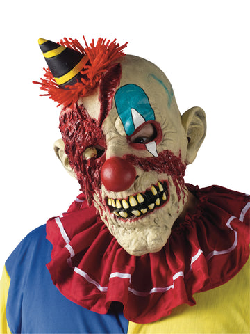Fearsome Faces Clown Mask - Willow Manor Shop