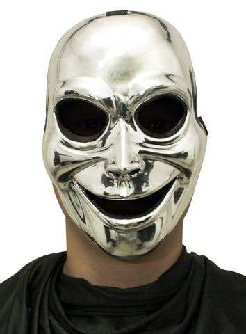 Sinister Ghost Silver Mask - Willow Manor Shop