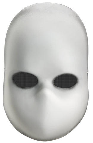 Blank Black Eyes Doll Mask - Willow Manor Shop