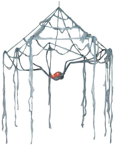 5 Ft Spider Canopy - Lighted Eyes - Willow Manor Shop