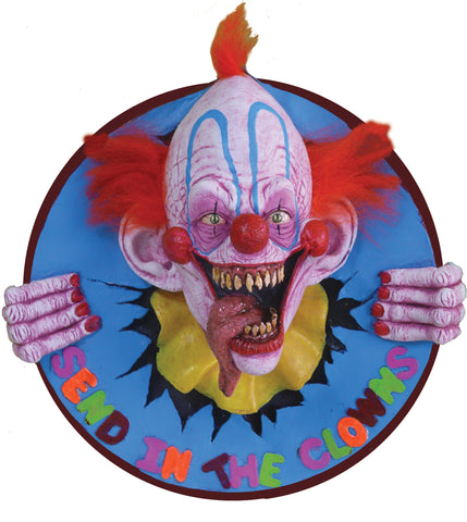 Send In The Clowns 3D Wall Plaque - Willow Manor Shop