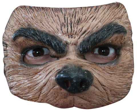 Half Wolf Mask - Willow Manor Shop