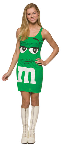 M&M's Green Tank Dress - Teens - Willow Manor Shop
