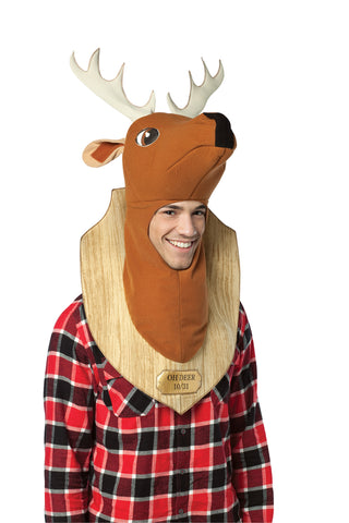 Trophy Head Deer Mask - Willow Manor Shop
