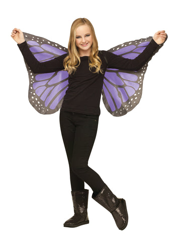 Soft Butterfly Wings - Purple - Willow Manor Shop