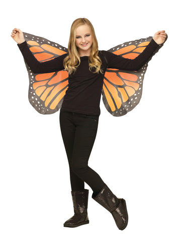 Soft Butterfly Wings - Orange - Willow Manor Shop