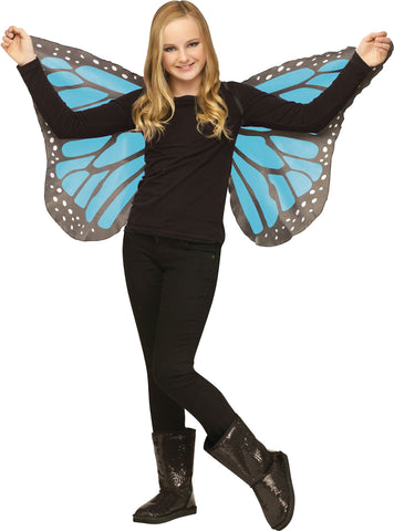 Soft Butterfly Wings - Blue - Willow Manor Shop