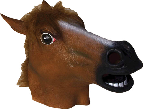 Horse Latex Mask - Willow Manor Shop