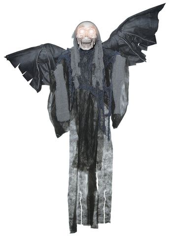 "60"" Talking Winged Reaper - Animated - Willow Manor Shop"