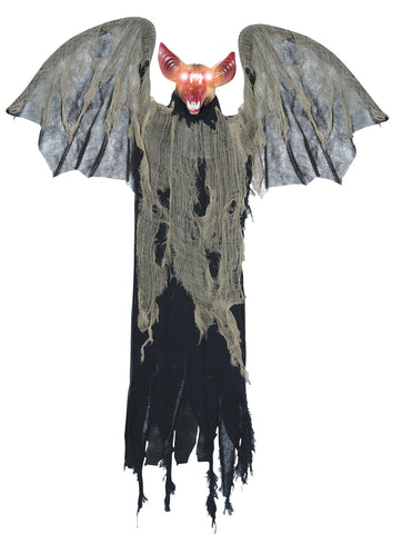 Hanging Bat With Wings - Animated - Willow Manor Shop