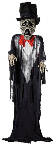 12 Ft Hanging Ghost Groom - Willow Manor Shop
