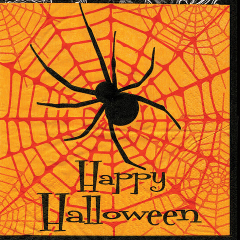 Spider Napkins - 80 Pc - Willow Manor Shop