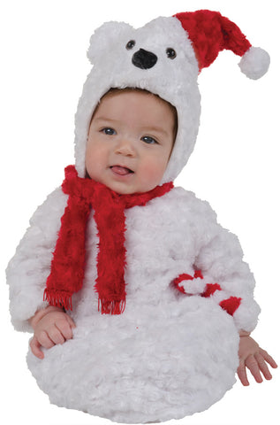 Christmas Polar Bear Bunting - Infant