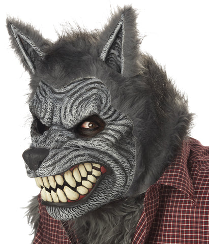 Werewolf Mask Ani-motion - Willow Manor Shop