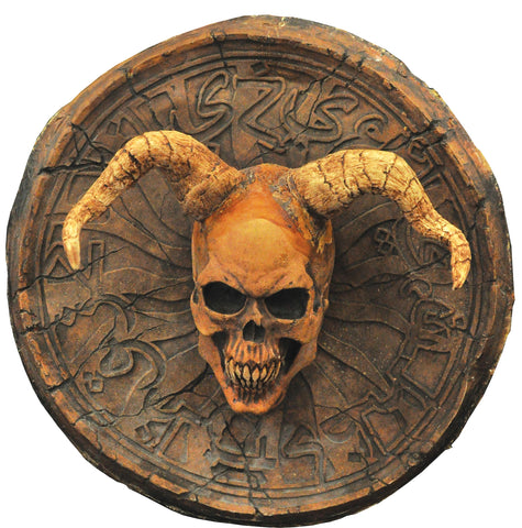 2 Ft Devil Demon Wall Plaque - Latex - Willow Manor Shop