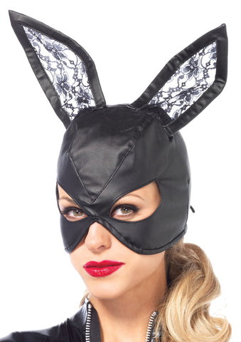 Bunny Leather Mask - Willow Manor Shop