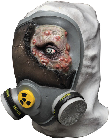 Toxic Zombie Latex Mask - Willow Manor Shop